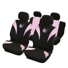 CarPoint presvlake za sjedala set 8 kom Ladybug airbag