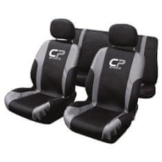 CarPoint prevleke sedeža set 9 kosov CP Sport, srebrne