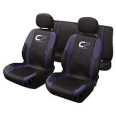 CarPoint prevleke sedeža set 9kos CP Sport, modre