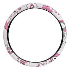 CarPoint prevleka volana, ženska, roza/bela