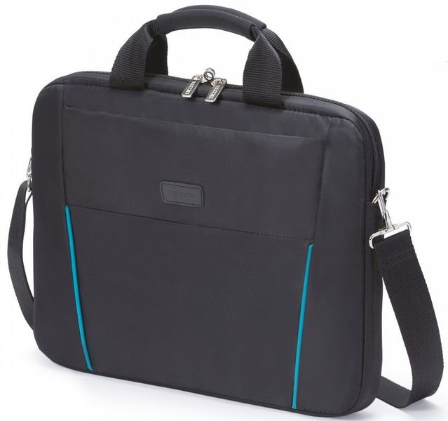 Dicota Slim Case BASE 14-15.6 black/blue