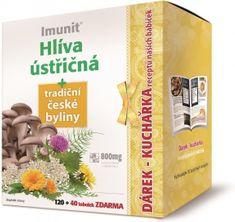 Simply you Imunit Hlíva ústřičná + tradiční české byliny 160 tbl. + kuchařka