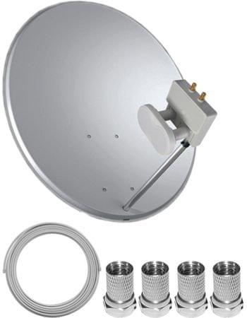 tele system satelitn set 80 cm monoblock twin mall cz. Black Bedroom Furniture Sets. Home Design Ideas