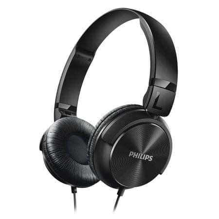 Philips stereo slušalke z naglavnim trakom SHL3060, črne