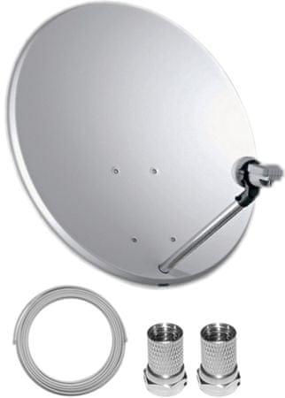 TELE System Satelitní set 60 cm + LNB Single