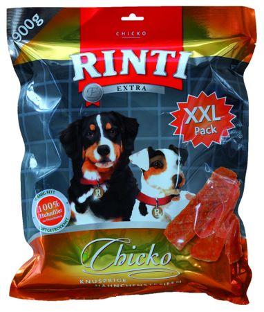 RINTI Extra Chicko prigrizki za pse, piščanec, 900 g