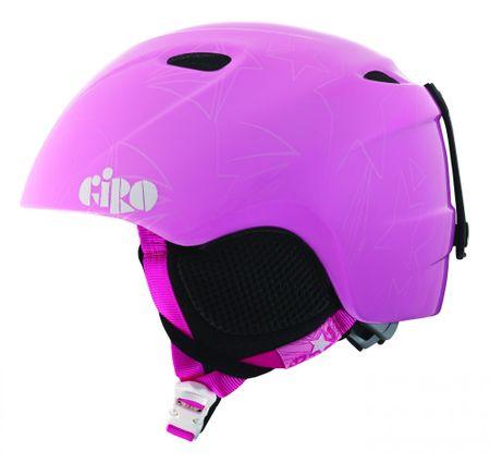 Giro Slingshot Gyerek Sisak, Rózsaszín, 49-52