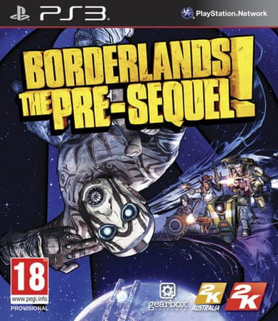 Take 2 Borderlands: The Pre-Sequel (PS3)