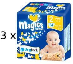 Magics plenice Premium Mini Jumbopack, 102 kosa