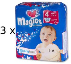 Magics Pieluszki Premium Maxi Jumbopack 87 szt.