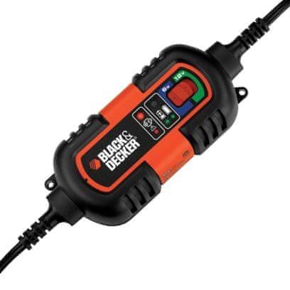 Black+Decker 6V / 12V Automatická nabíječka