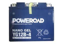 Yucell Poweroad akumulator za motor YG12B-4 gel (12V 10Ah, 150 x 69 x 130)