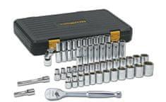 GearWrench komplet natičnih ključev in raglje 80700P, 49-delni (80700P-ATP20)