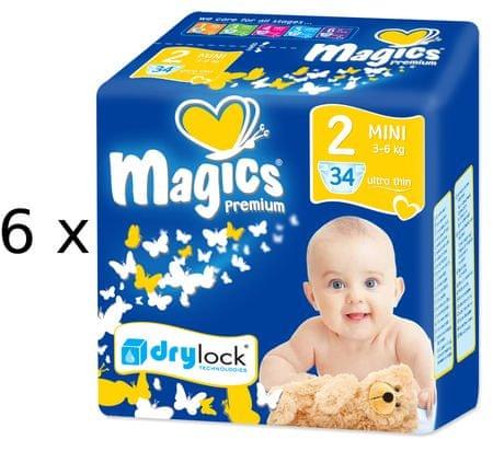 Magics plenice Premium Mini Megapack, 204 kosi