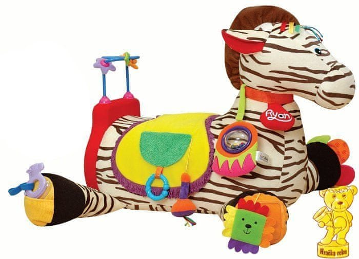 K´s Kids Velká zebra RYAN s 28 funkcemi zábavy