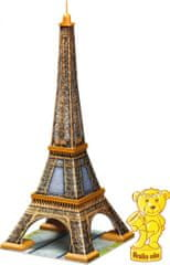 Ravensburger Puzzle Wieża Eiffla 3D, 216 elementów