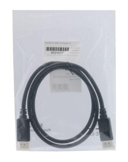 Digitus kabel DisplayPort, 1 m