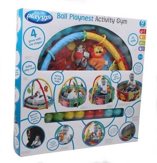 Playgro Aktivity hrazdička s loptičkami