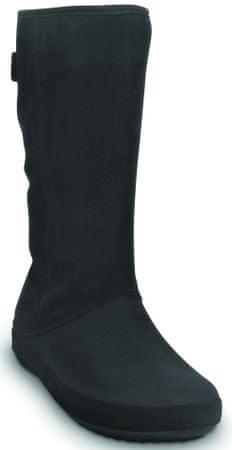 59675bfb7 Crocs Berryessa Tall Seude Boot Black W3 (32