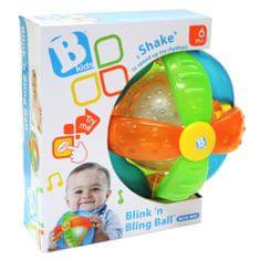 B-Kids žogica z lučko in zvokom