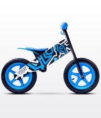 Caretero Rowerek biegowy ZAP BLACK/BLUE TOYZ-0200