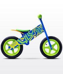 Caretero Rowerek biegowy ZAP blue/green TOYZ-0202