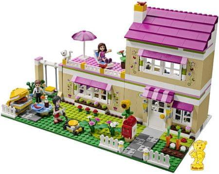lego friends 3315 olivia a jej dom mall sk. Black Bedroom Furniture Sets. Home Design Ideas