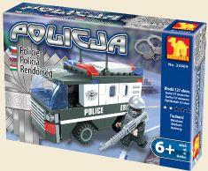 Dromader Klocki Policja 23404 127 elem.