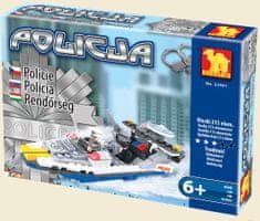 Dromader Klocki Policja 23501 215 elem..