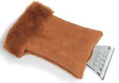 Kufieta strgalo za led z rokavico