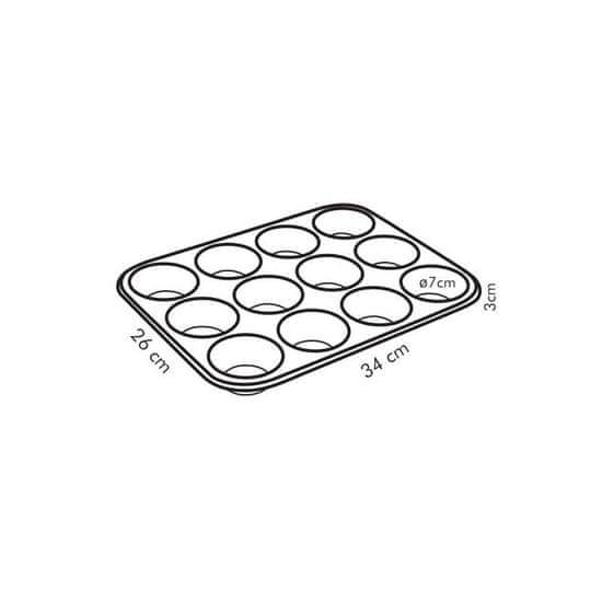 Tescoma kalup za 12 muffina Delicia