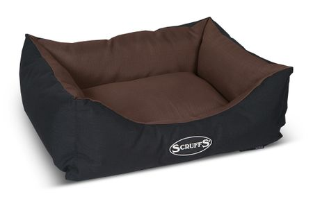 Scruffs Expedition Box Bed čokoládový vel. S