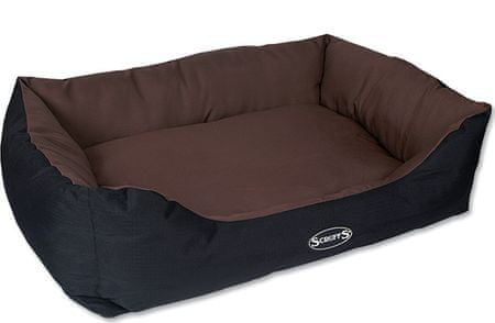 Scruffs Expedition Box Bed čokoládový vel. XL