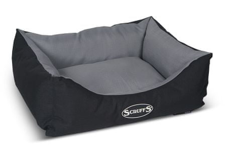 Scruffs Expedition Box Bed šedivý veľ. S