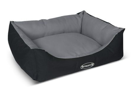 Scruffs krevet Expedition Box Bed, sivo-crni, M