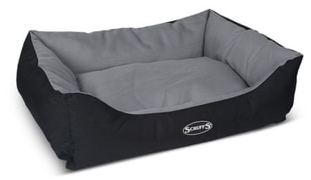 Scruffs krevet Expedition Box Bed, sivo-crni, L