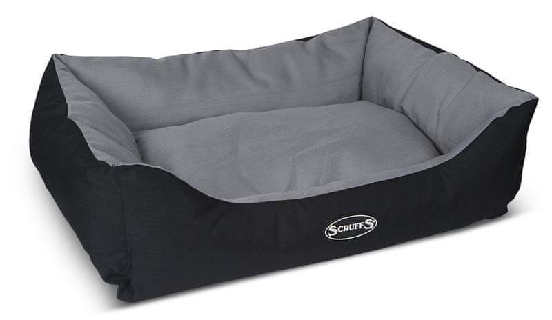Scruffs Expedition Box Bed šedivý vel. L
