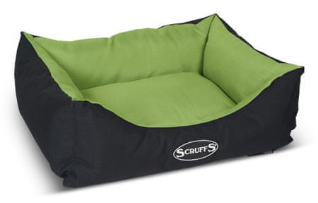 Scruffs Expedition Box Bed limetkový veľ. S