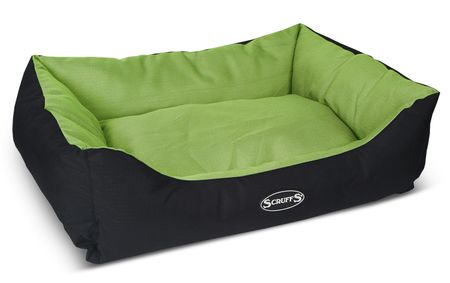 Scruffs Expedition Box Bed limetkový veľ. L