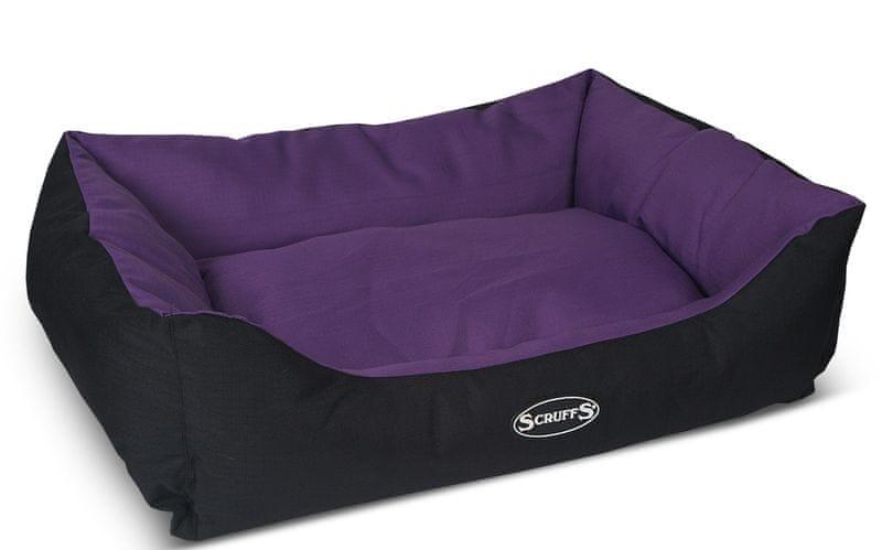 Scruffs Expedition Box Bed švestkový vel. L