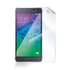 CELLY ochranná fólie Samsung Galaxy Alpha, 2ks, lesklá