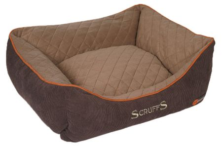 Scruffs Thermal Box Bed hnedý veľ. S