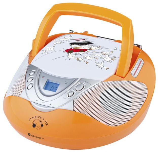 GoGEN MAXI RADIO O, oranžová