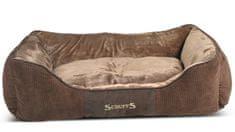 Scruffs Chester Box Bed čokoládový