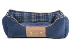 Scruffs Highland Box Bed modrý