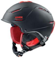 Uvex P1Us Pro Black-Red Mat