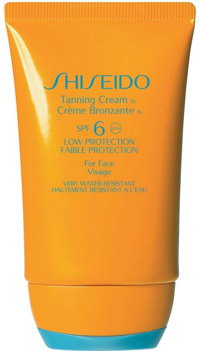 Shiseido Krem do opalania twarzy Tanning SPF 6 - 50 ml, BEZPŁATNY ODBIÓR: WARSZAWA, WROCŁAW, KATOWICE, KRAKÓW!