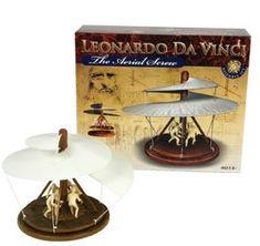 MEHANO Leonardo Da Vinci 3D sestavljanka Zračni vijak E274