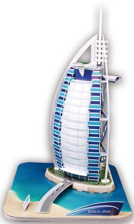 MEHANO 3D sestavljanka Burjal-Arab Dubai P179