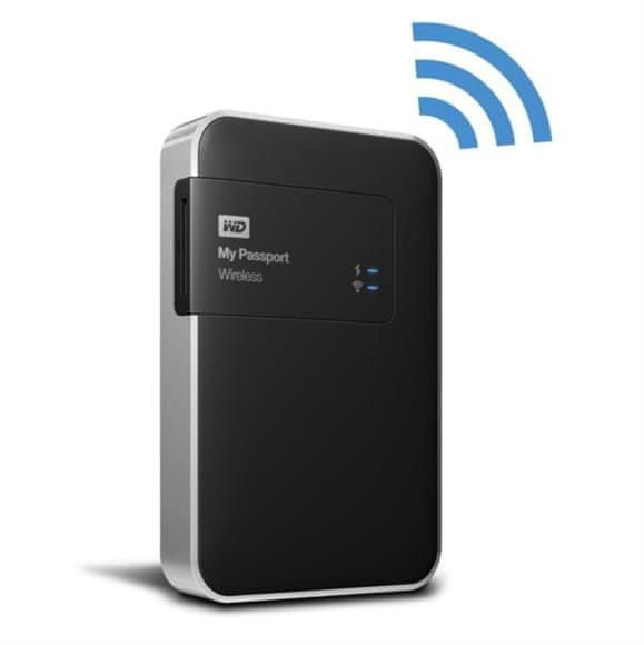 "WD WD My Passport Wireless 2TB / Externí / USB 3.0 / 2,5"" / Black (WDBDAF0020BBK-EESN)"